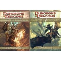 Lot Encyclopédie & Guide des Joueurs des Royaumes Oubliés (jdr Dungeons & Dragons 4)
