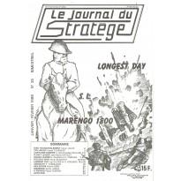Le Journal du Stratège N° 35 (revue de jeux d'histoire & de wargames) 001