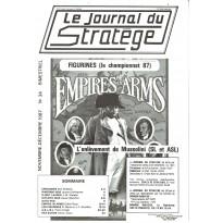 Le Journal du Stratège N° 34 (revue de jeux d'histoire & de wargames) 001