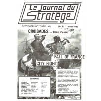 Le Journal du Stratège N° 33 (revue de jeux d'histoire & de wargames) 001