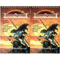 Dark Sun - 2 carnets à spirales (jdr AD&D 2ème édition en VF) 001