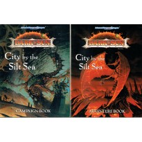 Dark Sun - City by the Silt Sea - 2 livrets (jdr AD&D 2ème édition en VO)