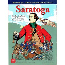 Saratoga 1777 - Battles for the American Revolution I (wargame GMT en VO)