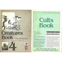 Lot Livres Creatures Book & Cults Book (rpg Runequest en VO) L087