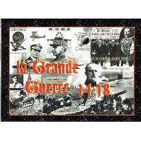 La Grande Guerre 14-18 (wargame Azure Wish Editions en VF)