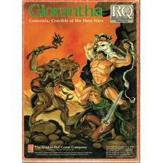Glorantha - Genertela, Crucible of the Hero Wars (rpg Runequest en VO)