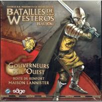 Batailles de Westeros - Gouverneurs de l'Ouest (extension Battelore en VF) 001