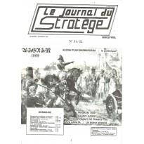 Le Journal du Stratège N° 21-22 (revue de jeux d'histoire & de wargames) 001