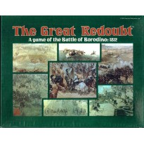 The Great Redoubt - The Battle of Borodino 1812 (wargame Yaquinto en VO)