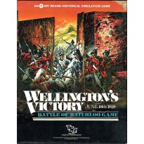 Wellington's Victory - Battle of Waterloo 1815 (wargame SPI-TSR en VO) 002