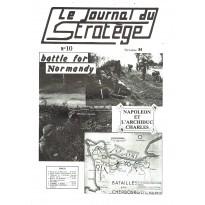 Le Journal du Stratège N° 10 (revue de jeux d'histoire & de wargames) 001