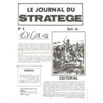 Le Journal du Stratège N° 6 (revue de jeux d'histoire & de wargames) 001