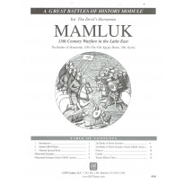 Mamluk - 13th Century Warfare in the Latin East (wargame The Great Battles of History Series de GMT) 001