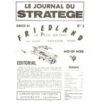 Le Journal du Stratège N° 3 (revue de jeux d'histoire & de wargames) 001