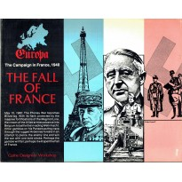 Série Europa - The Fall of France - The Campaign in France, 1940 (wargame GDW en VO) 001