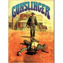 Gunslinger - Game of Western Gun Fights (jeu de stratégie Avalon Hill en VO) 001