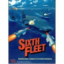 Sixth Fleet - Modern naval combat in the Mediterranean (wargame de Victory Games en VO) 001