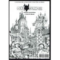 Portfolio Loup Solitaire - L'écran du Meneur A5 (jeu de rôle Le Grimoire en VF) 001