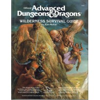 Wilderness Survival Guide (jdr AD&D 1ère édition en VO) 001