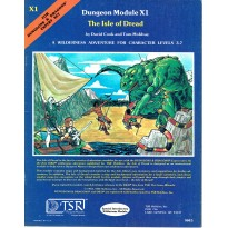 X1 The Isle of Dread (jdr D&D 1ère édition en VO) 002