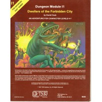 I1 Dwellers of the Forbidden City (jdr AD&D 1ère édition en VO) 001