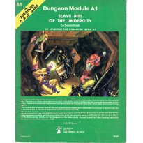 A1 Slave Pits of the Undercity (jdr AD&D 1ère édition en VO)
