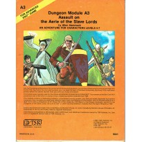 A3 Assault on the Aerie of the Slave Lords (jdr AD&D 1ère édition en VO) 002