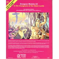 A4 In the Dungeons of the Slave Lords (jdr AD&D 1ère édition en VO)