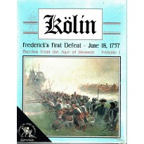 Kölin - Frederick's First Defeat - June 18, 1757 (wargame Clash of Arms en VO) 001