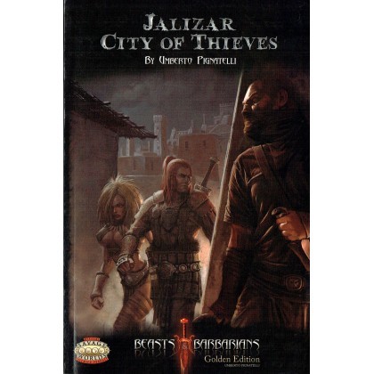 Jalizar - City of Thieves (jdr Beasts & Barbarians Savage Worlds en VO) 001
