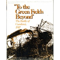 To the Green Fields Beyond - The Battle of Cambrai, 1917 (wargame SPI en VO) 001