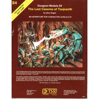 S4 The Lost Caverns of Tsojcanth (jdr AD&D 1ère édition en VO)
