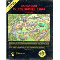 S3 Expedition to the Barrier Peaks (jdr AD&D 1ère édition en VO)