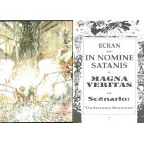 In Nomine Satanis / Magna Veritas - Ecran de Jeu & livret (jdr 2ème édition en VF) 002