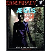 Aegis - Le Livre du Joueur pour Conspiracy X (jdr de Multisim en VF) 001