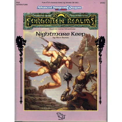 FA2 Nightmare Keep (jdr AD&D 2ème édition - Forgotten Realms en VO) 002