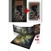 PRECOMMANDE Pack Chroniques Lémuriennes + Livre de base + pdf (jdr Barbarians of Lemuria Mythic en VF)