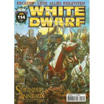 White Dwarf N° 114 (magazine de jeux de figurines Games Workshop en VF)