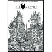 Loup Solitaire - Ecran du Meneur de Jeu A4 (jeu de rôle Le Grimoire en VF) 003