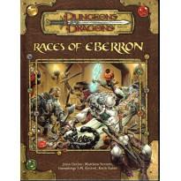 Races of Eberron (jdr Dungeons & Dragons 3.5 en VF) 001