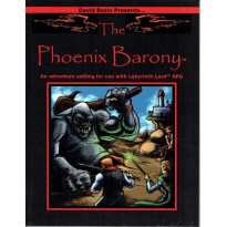 Labyrinth Lord - The Phoenix Barony (jdr OSR en VO) 001