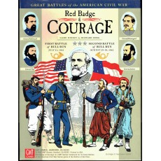 Red Badge of Courage - Battles of Bull Run 1861 & 1862 (wargame GMT en VO)