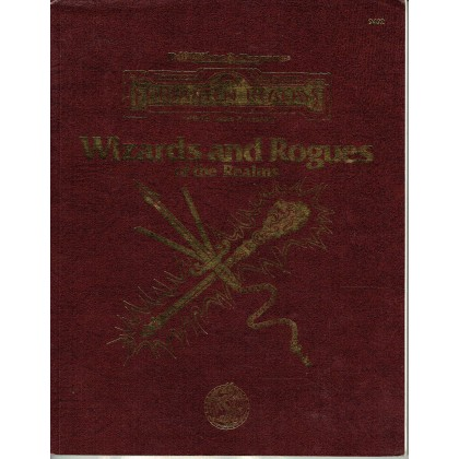 Wizards and Rogues of the Realms (jdr AD&D 2 - Forgotten Realms en VO) 003