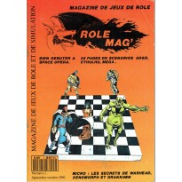 Rôle Mag' N° 2 (magazine de jeux de rôles) 002