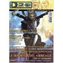 D20 Magazine N° 10 (magazine de jeux de rôles) 002