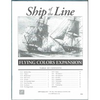 Ship of the Line - Flying Colors Expansion (wargame ziploc GMT en VO) 002