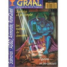 Graal N° 18 (Mensuel de jeux de rôles)