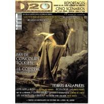 D20 Magazine N° 4 (magazine de jeux de rôles) 002