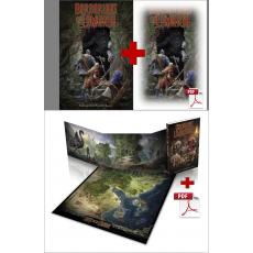 Pack Chroniques Lémuriennes + Livre de base + pdf (jdr Barbarians of Lemuria Mythic en VF)