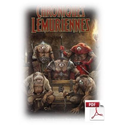 Chroniques Lémuriennes - Livre au format pdf (jdr Barbarians of Lemuria Mythic en VF) CLPDF
